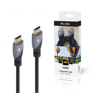 HDMI кабел BLOW 2.0 4K Ultra HD 1.5 m